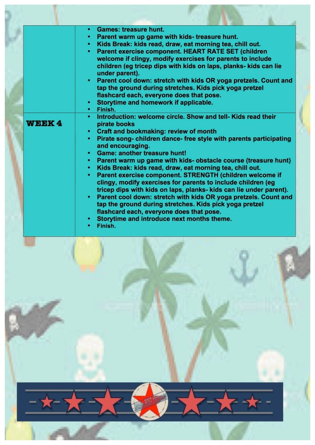 PIRATE MONTH activites pge 4